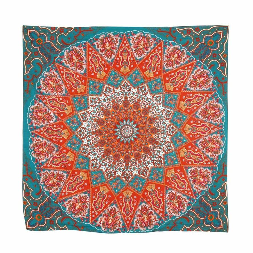 New Qualified Hot Sell Beach Cover Up Hippie Psychedelic Tapestry Mandala Bedspread Decor Yoga Mat dig683