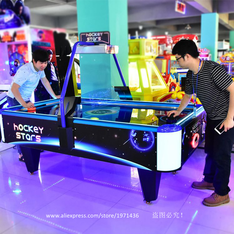 High Quality Amusement Equipment Coin Operated Arcade Game Machine Air Hockey Table For Adults Teenagers baby air hockey coin operated ticket redemption games for play center