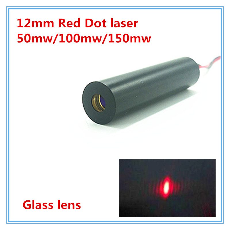 12mm 650nm 660nm 50mW 100mw 150mw Red Dot Laser Diode Module  Industrial Grade