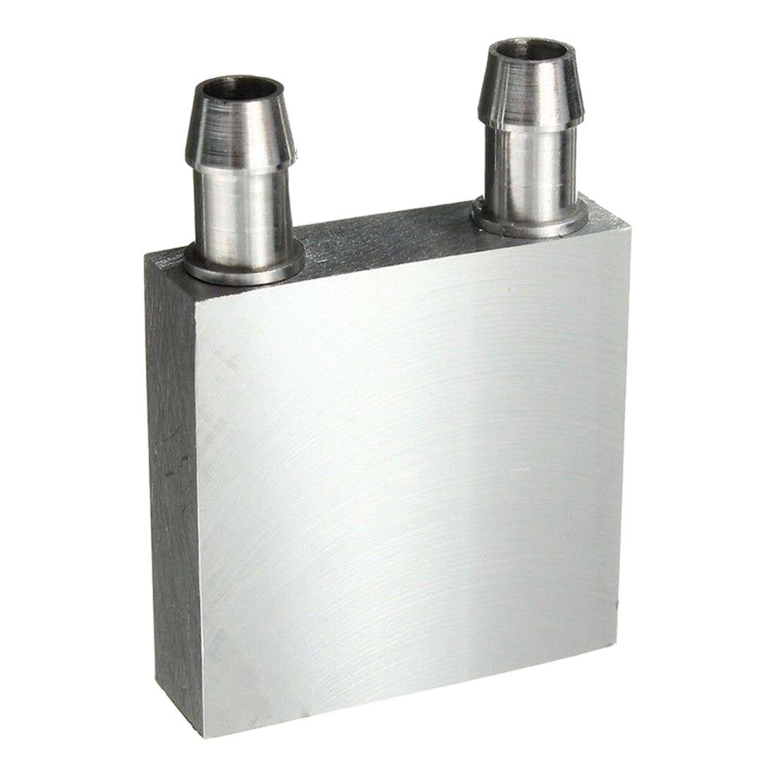 40x40x12mm Aluminum Water Liquid Cooler Block Heatsink For Computer CPU Radiator new 41 x 122 x 12mm water cooling heatsink block waterblock liquid cooler vacuum aluminum brazing heatsink cooler for cpu gpu