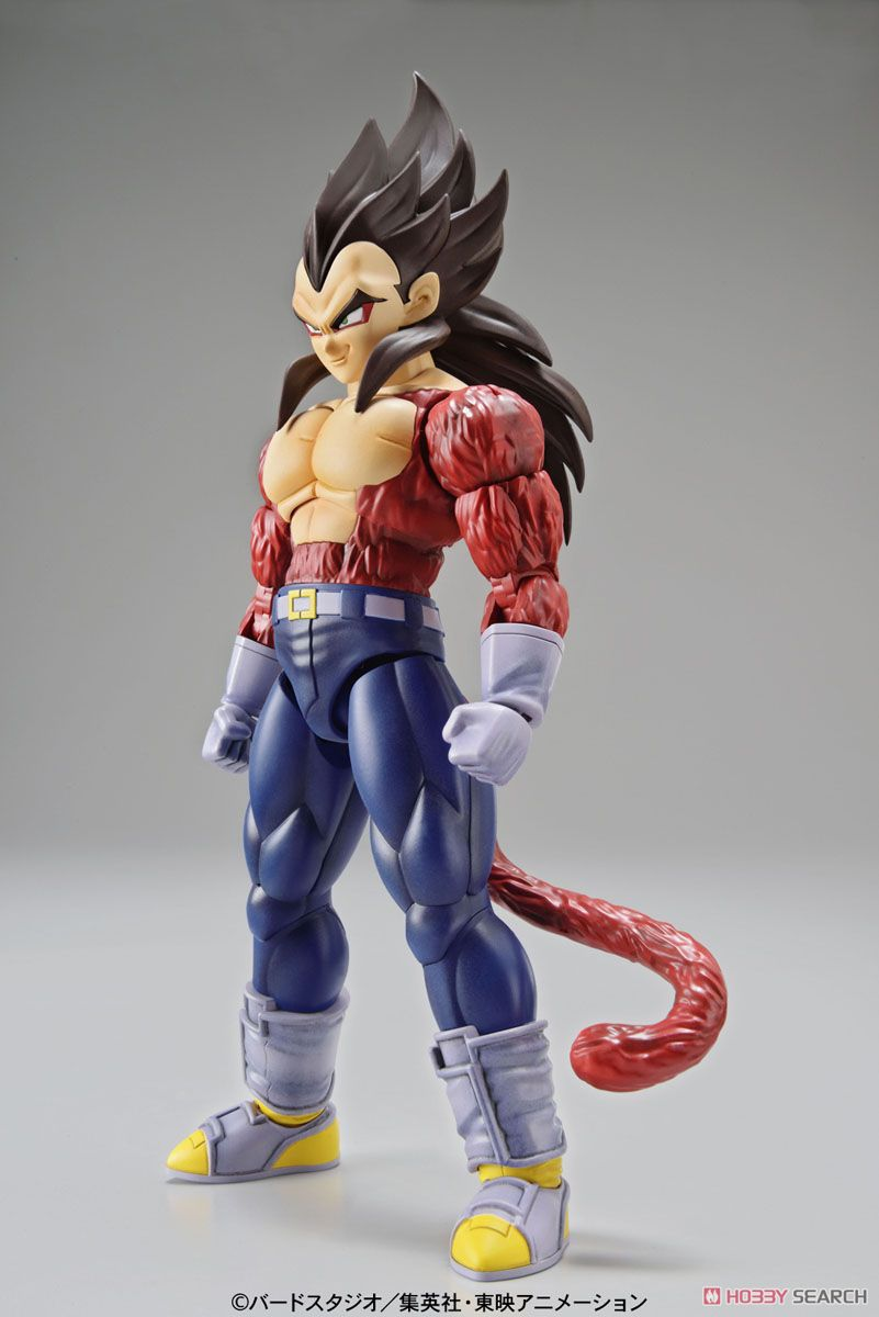 Bandai 1/144 Dragon Ball Z Figure-rise Standard Super Saiyan 4 Vegeta Plastic Model Scale Model revell model 1 25 scale 85 7457 69 camaro z 28 rs plastic model kit