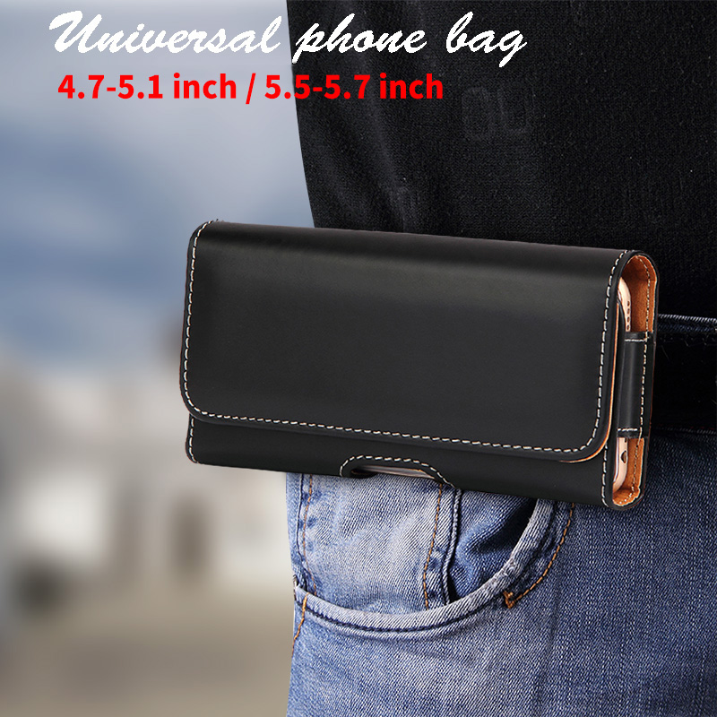 Sporting Universal Phone Bag Belt Clip Case For Huawei P20 P10 Honor 9 Lite Iphone X 5c 6 6s 7 8 Redmi Note7 For Meizu Note 9 Glass Cover New Varieties Are Introduced One After Another Cellphones & Telecommunications