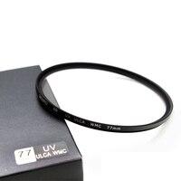 Benro 72 77 82mm UV Filter SD UV ULCA WMC Filter Waterproof Anti oil Anti scratch Ultraviolet Filters Free Shipping