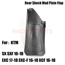 Motorcycle Rear Shock Mud Plate Guard protector For  SX SXF 16-18 EXC 17-18 EXC-F XCF Dirt Bike free shipping