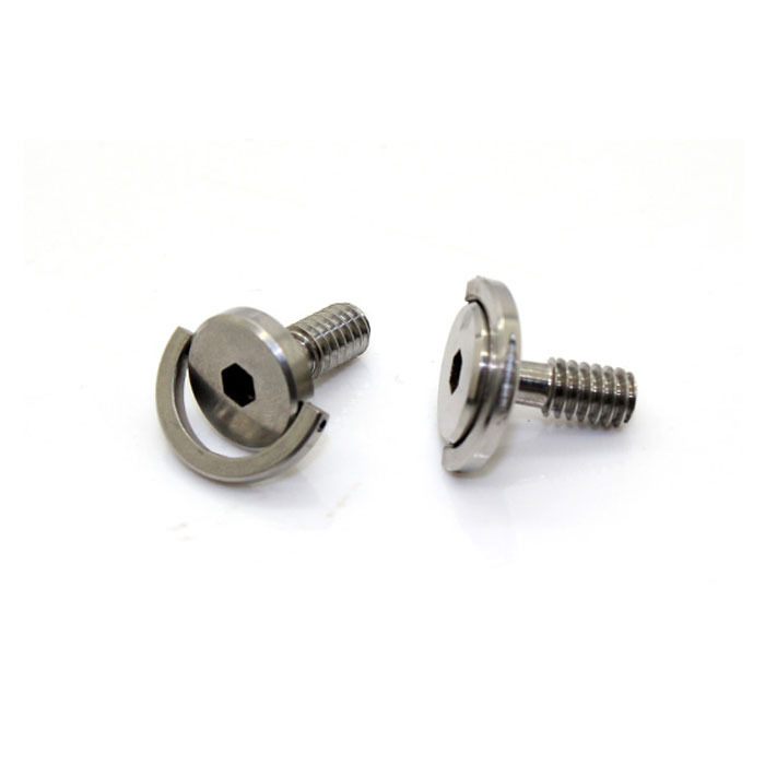 FITTEST TRIPOD Monopod CAMERA SCREWS D-Ring Screw 1/4 New LONGER SHAFT Stainless Steel screws quick release plate screws