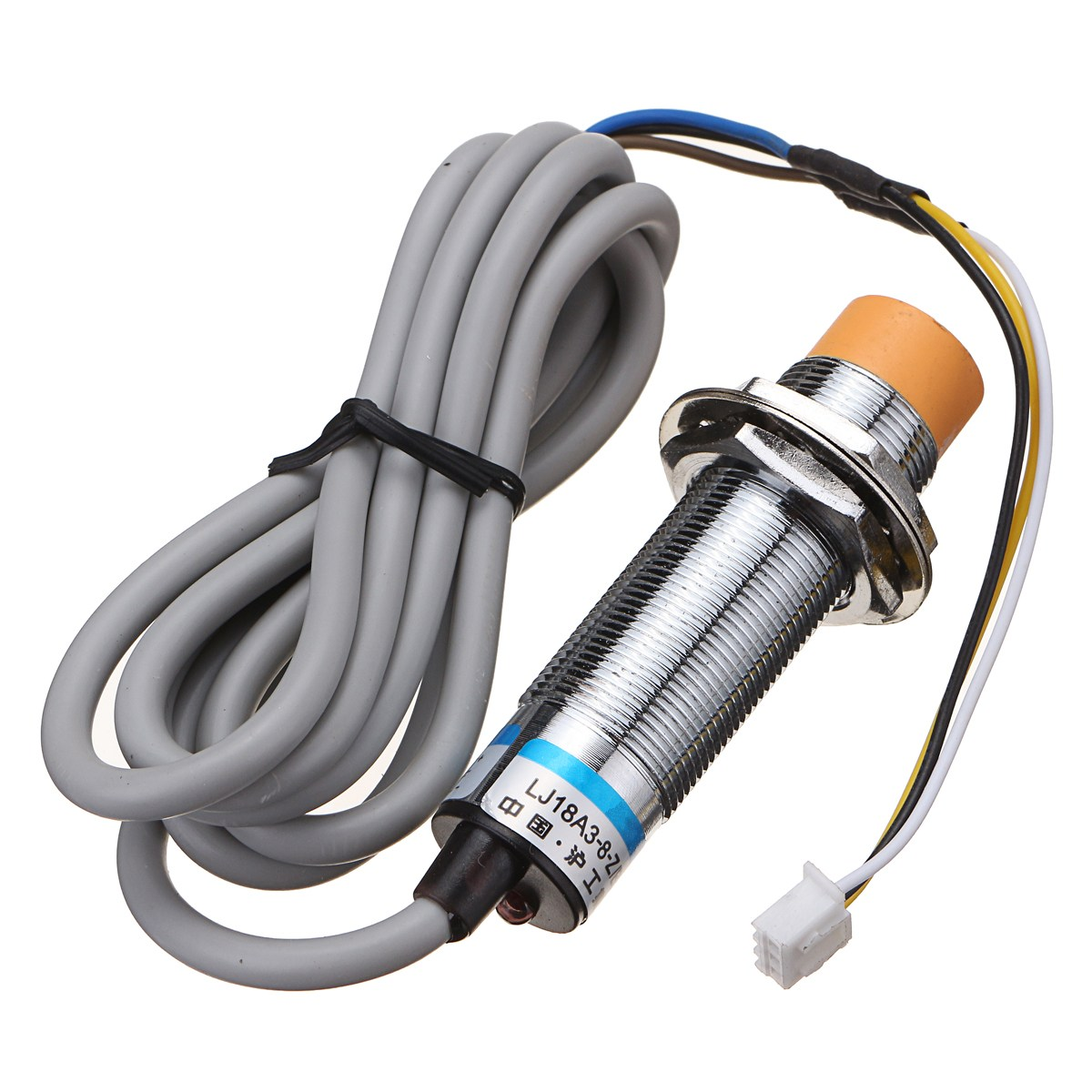 New Arrival 1PC LJ18A3-8-Z/BX Type Autolevel Inductive Sensor For Anet A8 A2 A6 3D Printer m18 no npn 8mm approach sensor inductive proximity switch 5vdc lj18a3 8 z bx 5v