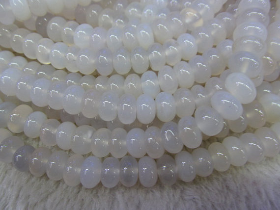 5strands 5x10mm high quality genuine agate rondelle abacus white black loose beads5strands 5x10mm high quality genuine agate rondelle abacus white black loose beads