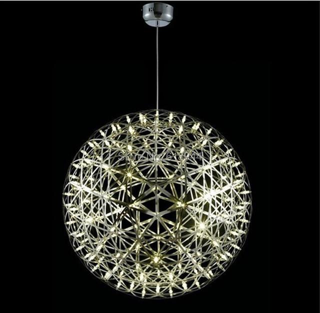 Edelstahl Pendelleuchten LED Feuerwerk Licht Ball Restaurant ...