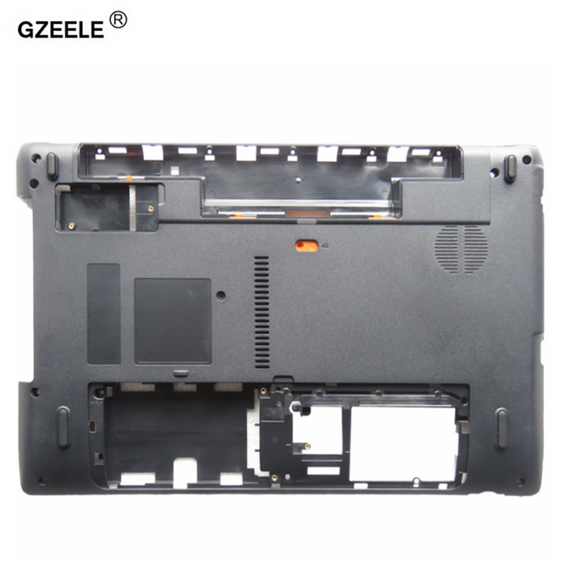 GZEELE laptop Bottom case cover For Acer Aspire 5750 5750g 5750z 5750ZG 5750S bottom case 5750z Base Cover AP0HI0004000 D shell new original laptop bottom base case cover for acer aspire emachines e640 e730 series base ap0ca000510 d shell top