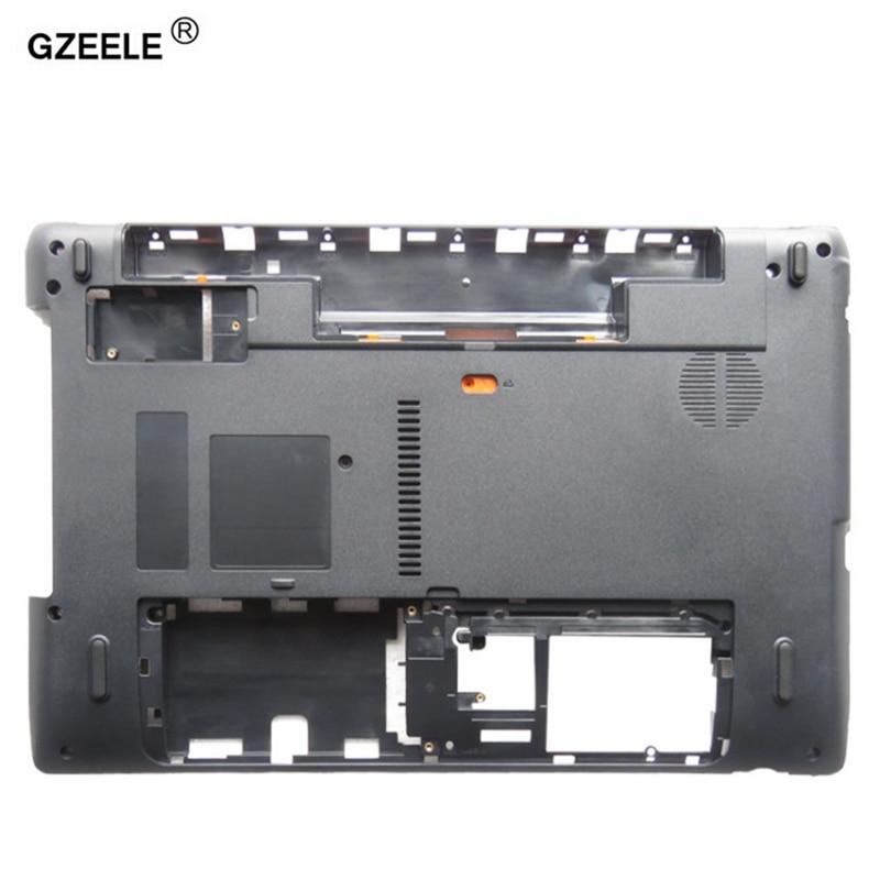 GZEELE nuevo ordenador portátil inferior para Acer Aspire 5750 5750G 5750z 5750ZG 5750 s menor caso de la cubierta de la Base AP0HI0004000