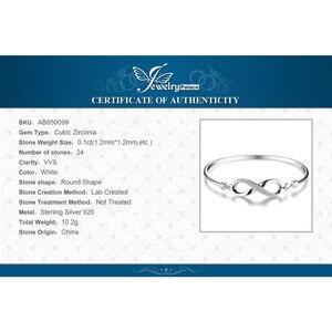 Image 5 - Jewelrypalaceクラウン無限の愛 925 純銀製の腕輪女性のためのシルバー 925 ジュエリーメイキングオーガナイザー