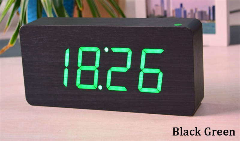 Veliki brojevi Digitalni satovi Vrhunske budilice s temperaturom, - Kućni dekor - Foto 5