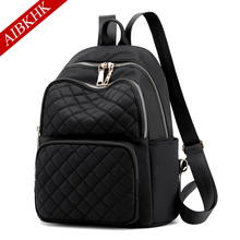 Nylon backpack for Women Shoulder bag women Youth Backpacks Teenage Girls Female School Bag Bagpack