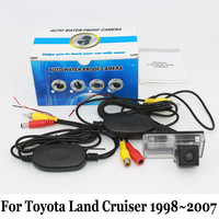 Wired Or Wireless Rear View Camera For Toyota Land Cruiser LC 100 LC100 1998 2007 CCD