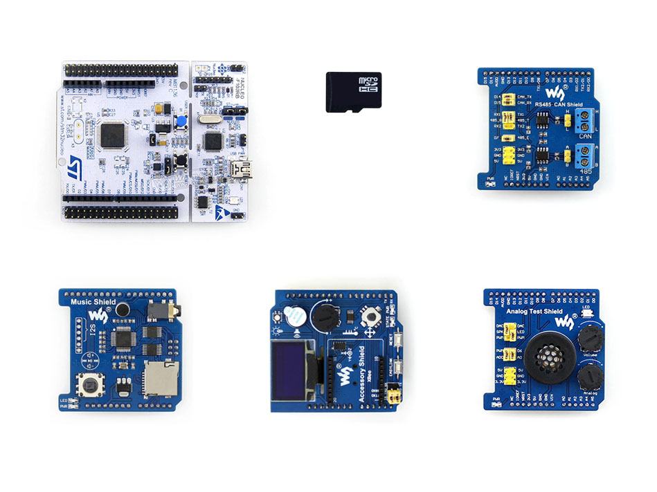 ARM STM32 NUCLEO F103RB Package B ST Official STM32 Nucleo Board Support And ST Morpho Headers