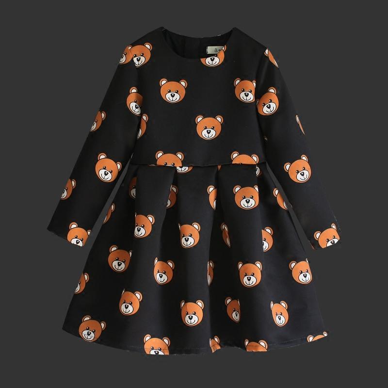 Familienspiel kleidung cartoon bär druckt hochwertige kinder stück - Kinderkleidung - Foto 3