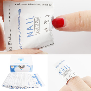 Cleaner Gel Nail Polish Remover Lint-Free Wipes 100Pcs/200pcs Nail Art Manicure Easy Wraps UV Nails Gel polish Remover