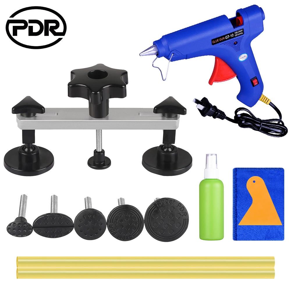 PDR Removing Dents Car Repair Dent Puller Paintless Tool Set Car Body Work Repair For 1-9cm Dent Removal
