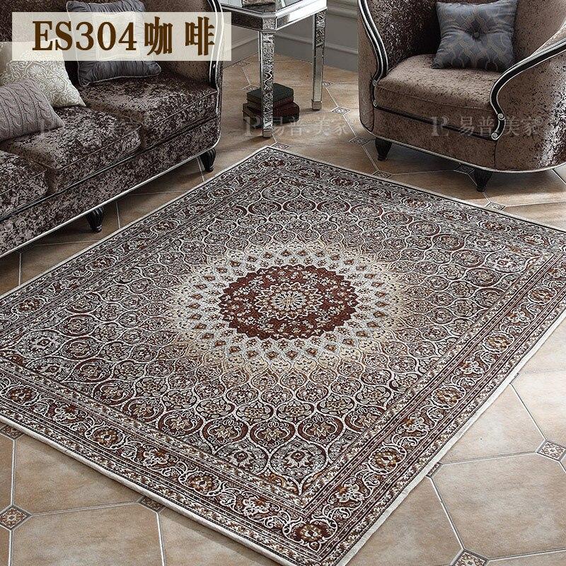 Living Room Modern minimalist machine washable American country style tea table carpet Nordic rug Bedroom Bedding Carpeting