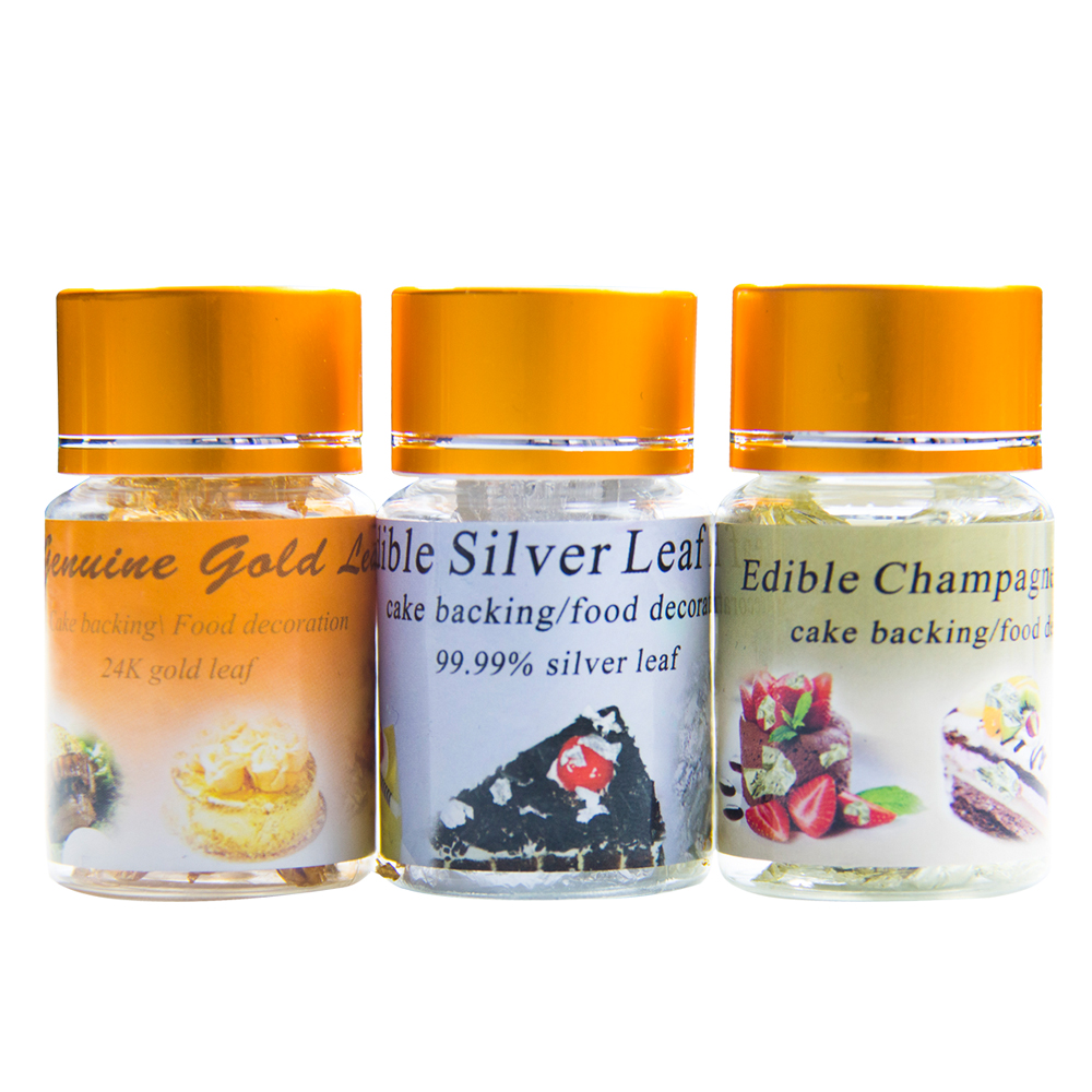 Aliexpress.com : Buy Edible leaf,Gold /Silver /Champagne