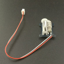 1.5g Ultralight Digital Linear Servo For SMALL RC Helicopter Airplane with 7mm JST/JR cable