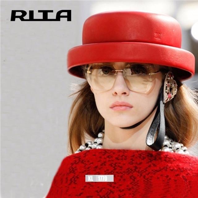 5b13f8434e Rimless Gradient Classic Eyeglasses Sunglasses Optics Metal Frame Women Men  UV400 Vintage Sun Glasses Frame Retro Oversized