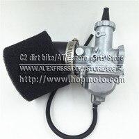VM26 Carb 30mm Carburetor 42mm Air Filter For Mikuni 140cc 150cc 160cc Engine Pitster Pro SSR Thumpstar Pit Dirt Bike Motocross