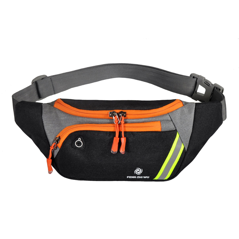 New Men Running Waist Bag For Phone Outdoor Fashion Chest Bags Women Sports Jogging Belt Multi-function Packet