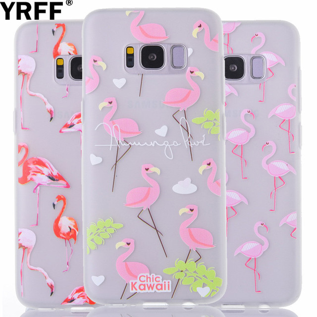 samsung s8 flamingo phone case