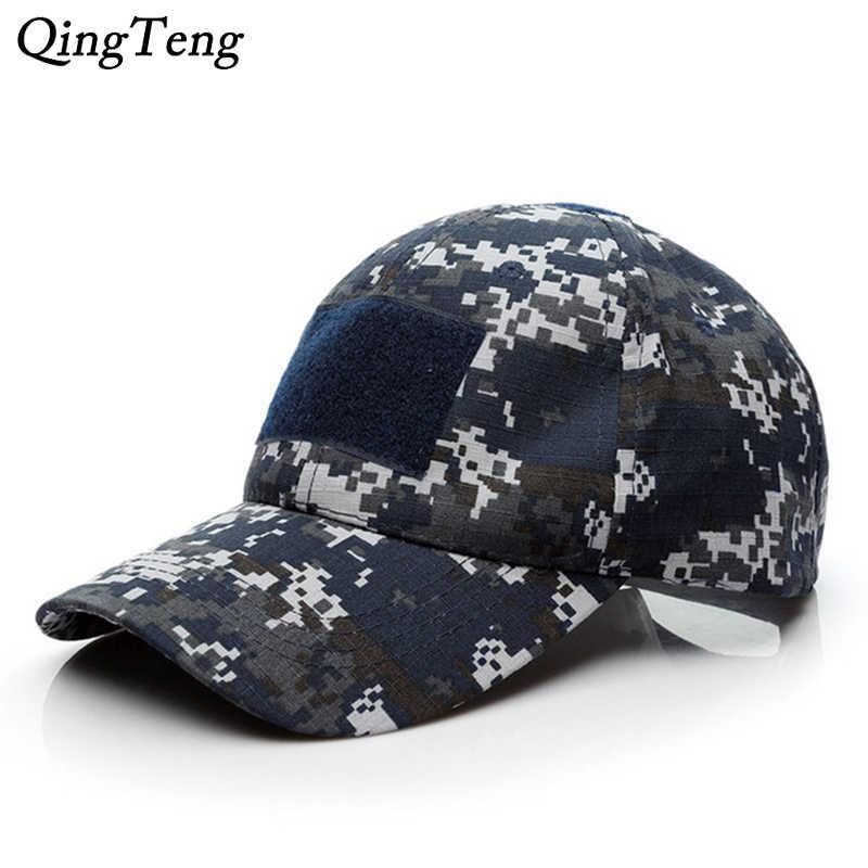 3436209c Army Digital Camo Hats For Men Hook And Loop Fastener Badge Team Tactical  Baseball Cap Desert