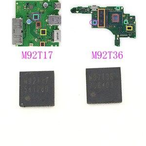 Image 1 - Б/у микросхема M92T36, контроль зарядки материнской платы, микросхема IC для консоли Nintendo Switch, HDMI чип M92T17