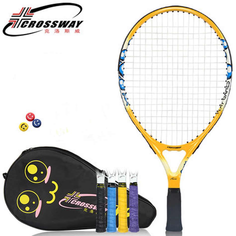 19 Inch Light Weight Tennis Racquet Children Tennis Racket Kid Raquete De Tenis Paddle With Tennis String Tennis Bag Tenis Raket