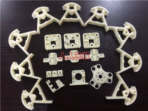 3 D printer accessory Reprap Delta Kossel mini K800 upgrade white injection-molded parts printed parts kit мини печь delta d 022 white
