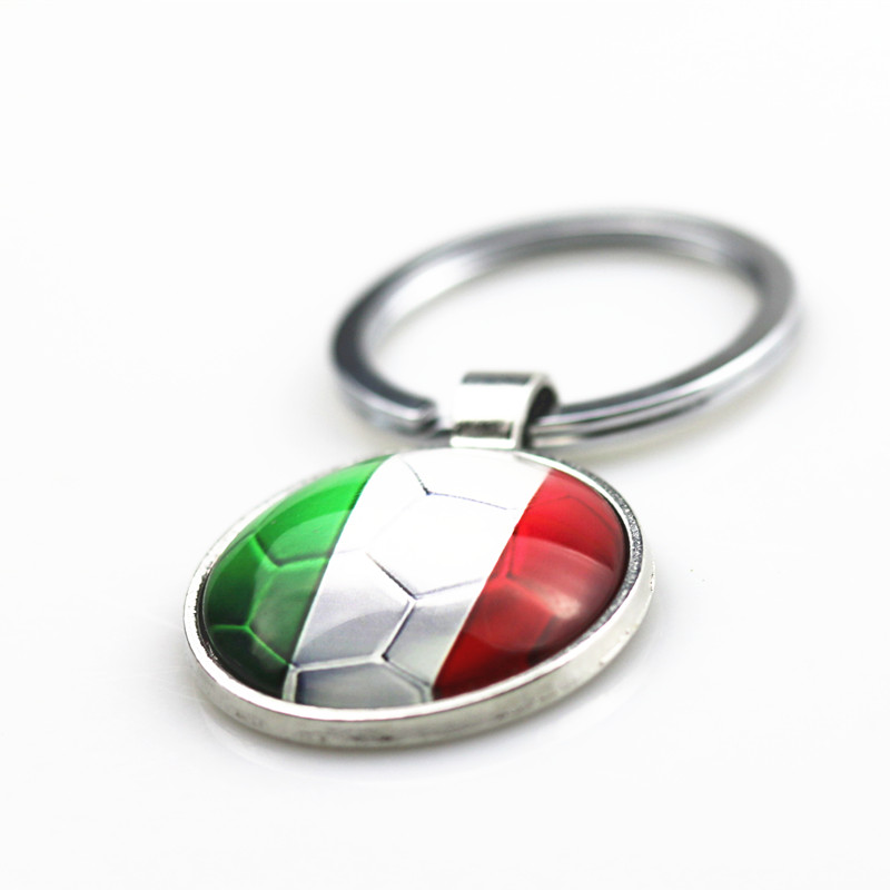 Car Styling 3D Metal Italy Flag Car Key Ring Keychain For FIAT 500 Panda Punto Bravo alfa romeo 159 147 156 giulietta 147 159 1piece 3 button flip remote key 433mhz for fiat 500 panda punto bravo key with pcf7946 chip