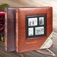 Creative Gift 8 inch Album Photo Family Page Inserted Couple Memorial Album 8 inch Photo Album Message Notes for Lover Wedding