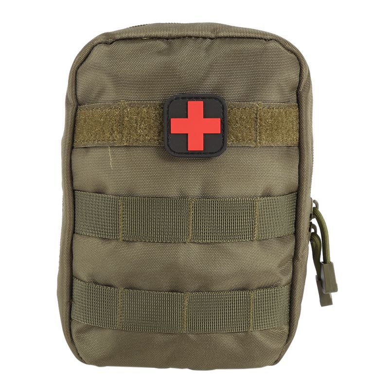 Military Medical First Aid Kit Bag Molle Pouch Medical EMT Cover Emergency Tactical Package Outdoor Travel Hunting Utility