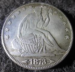 High Quality 90% Silver 1873-CC Seated Liberty Half Dollar Copy Coins