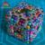 216 unids 5mm Antistres Cubos de Bolas Magnéticas Imán De Neodimio Esfera Rompecabezas Juguetes Para Adultos Esferas Bolas Cubo Mágico Juguetes Con Caja de metal