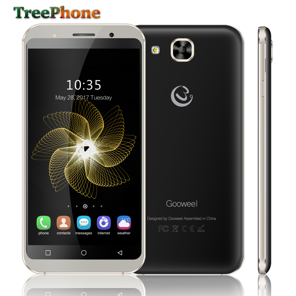 bilder für Neue Gooweel S8 smartphone 5,3 zoll HD IPS bildschirm MT6580 Quad core handy 1 GB RAM 8 GB ROM 5MP + 5MP kamera GPS 3G handy