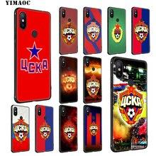 YIMAOC CSKA Moscow Soft Silicone Case for Xiaomi