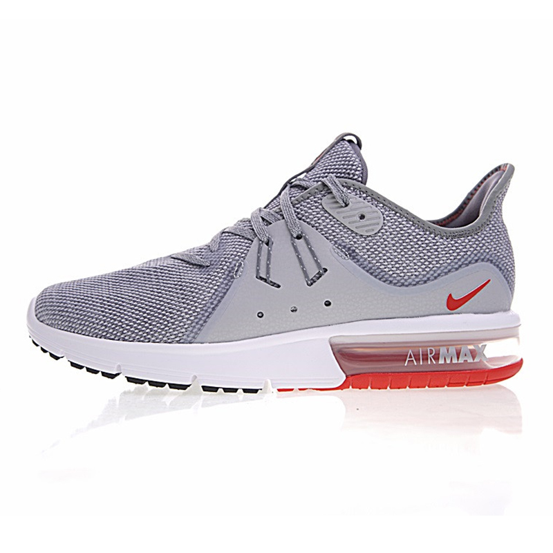 best sneakers e9f06 d1f53 Nike Air Max sequent 3 hombres Zapatillas para correr, blanco gris,  amortiguador, transpirable, transpirable 921694 012 921694 060 en Zapatos  para correr de ...