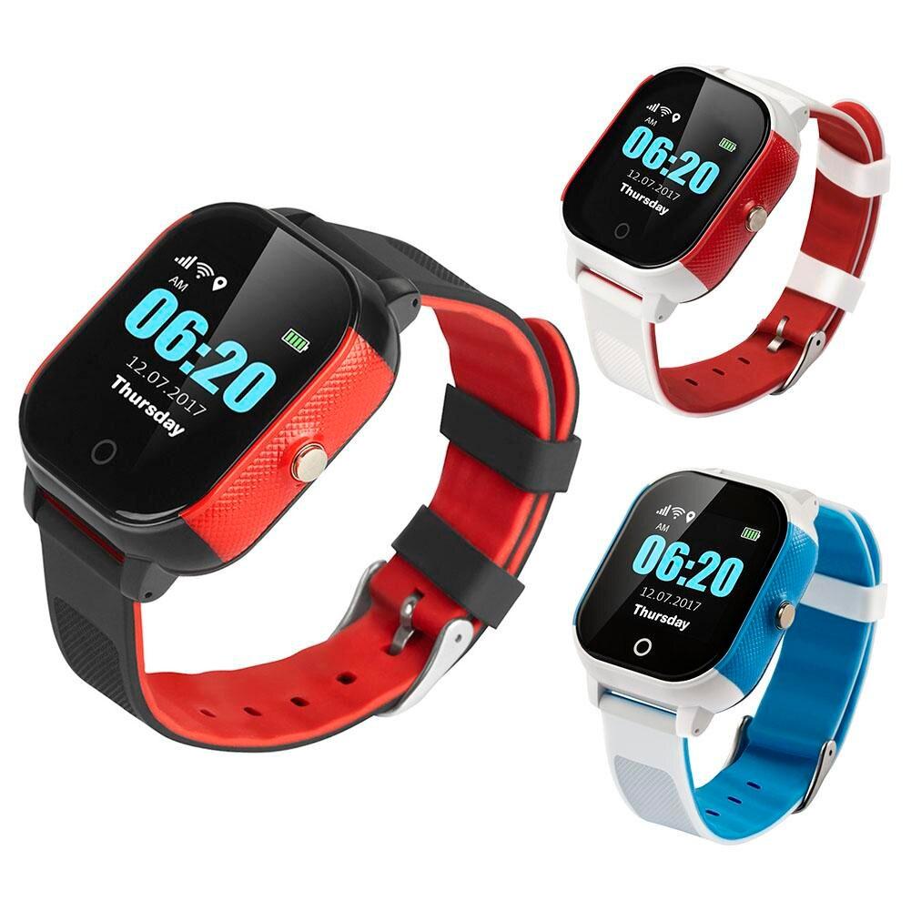 FA23 IP67 Водонепроницаемый детская WI-FI Смарт-часы Высокое разрешение ips большой Экран gps + компас + WI-FI + фунтов SOS вызова для помочь голосовой