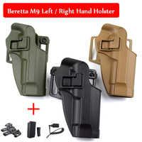 Tactical Gear Beretta M9 92 96 Gun Case Left / Right Hand Belt Holster Military Pistol Belt Holster Airsoft Hunting Equipment