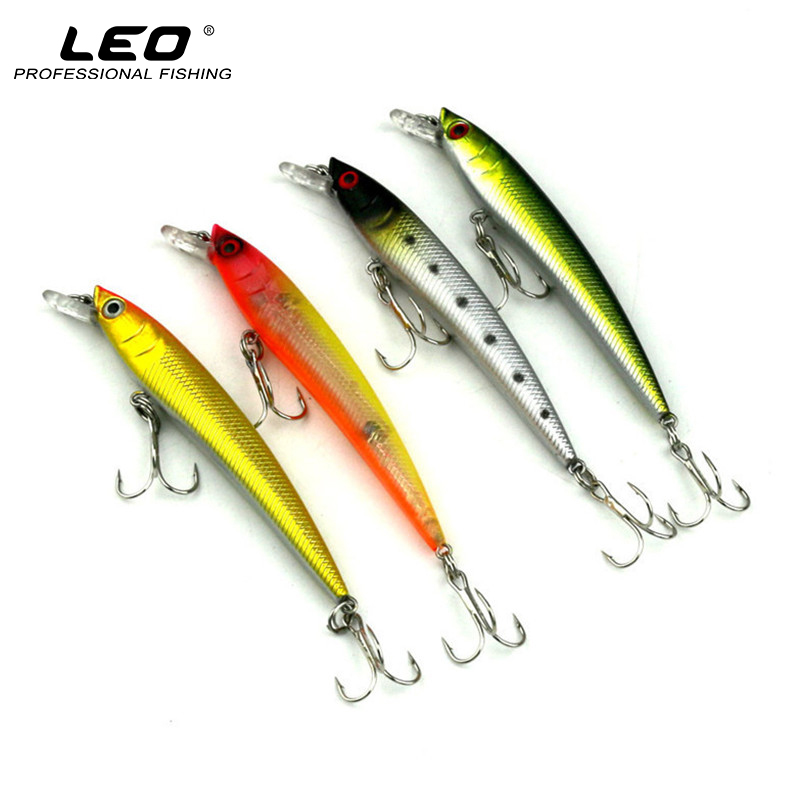 Hard Plastic Minnow Fishing Lure Artificial Bait for Sea Lake River Fishing 9.2cm 8.6g 4 Colors 1pcs 5g 7g 9g 13g fluorescence fishing spoon luminous matel shell lure sea laker bait for winter ocean river fishing accessories