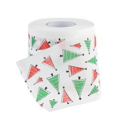 30 м/упак. Merry Рождественская елка туалетная бумага с рисунком домашняя Ванна гостиная тонкая оберточная бумага туалетной бумаги рулон