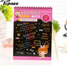 Medium DIY Doodling Scrap Book Baby Funny Puzzle Kids Children Educational Creative Toys Gift For Children Kids Development