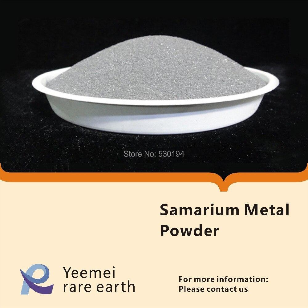 цена на Rare earth metal powder -- 99.99% Samarium metal powde