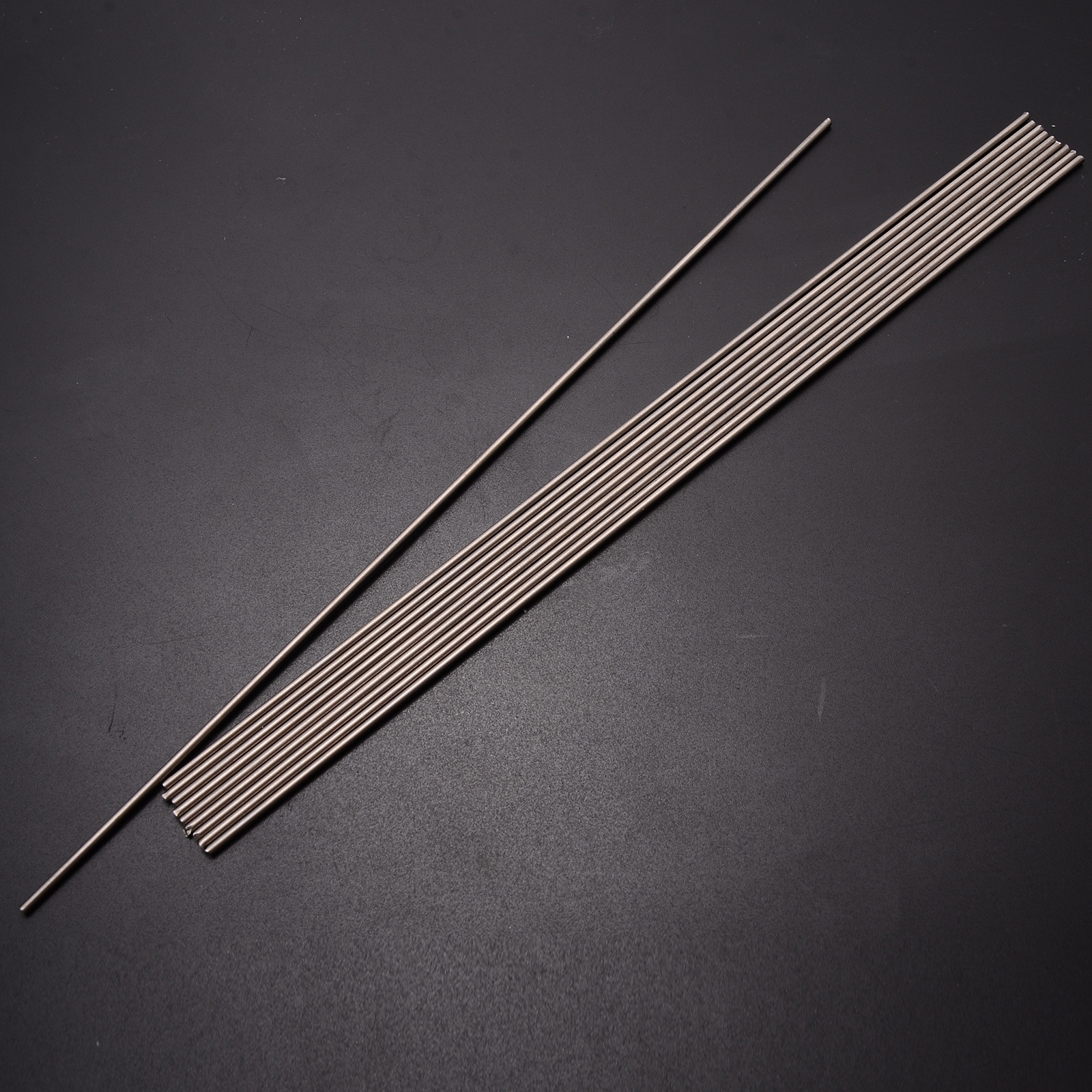 10pcs Ti Gr.5 Grade 5 Titanium Bar 6al-4v Round Welding Rods 2mm Diameter 250mm Length
