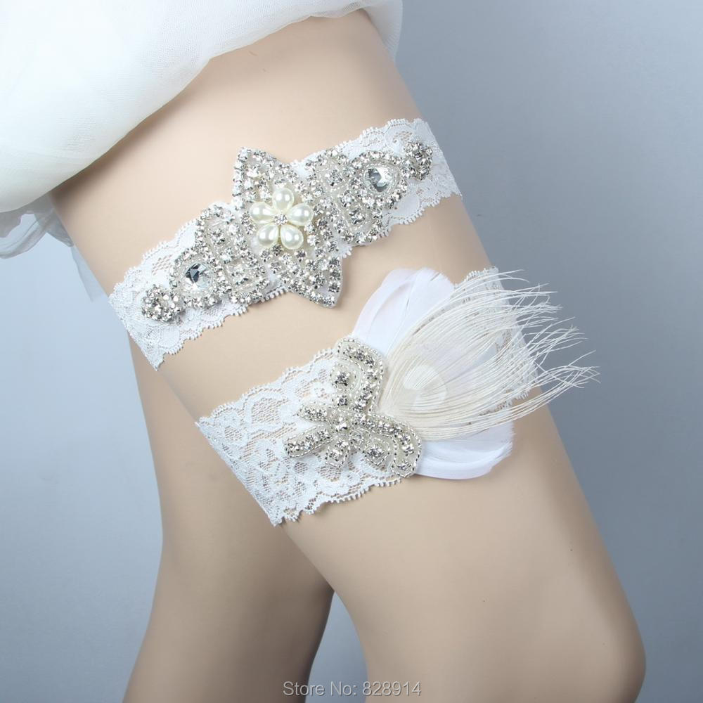 Where To Buy A Garter For Wedding: Aliexpress.com : Buy Lowosaiwor Factory Wholesale Ivory