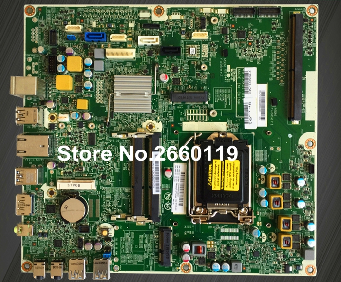 For ProOne 600 G1 AIO 739681-001 739681-501 739681-601 697286-002 system motherboard, fully tested desktop motherboard for prodesk 600 g1 746632 001 746632 501 746632 601 746219 001 system board fully tested